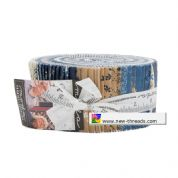 "Crystal Lake - Jelly Roll by Minick & Simpson for Moda Fabrics - 40 x 2.5"" Fabric Strips"